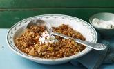 Hackfleisch-Sauerkraut Eintopf mit Knoblauch