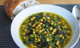 Schnelles Spinat-Kichererbsen-Gericht