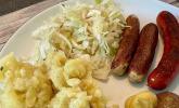 Bayerischer Krautsalat mit Speck
