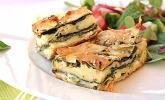 Börek mit Spinat und Schafskäse