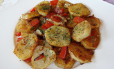 Bratkartoffeln griechischer Art