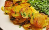 Bratkartoffeln - innen weich, außen sehr knusprig