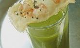 Essenz von der Zucchini mit Poppie - Cräcker