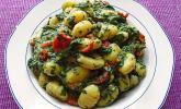 Gnocchi in Spinat-Frischkäse-Soße