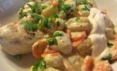 Gnocchi-Pfanne mit Hähnchenbrust