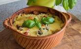Italienischer Gnocchi-Spinat-Auflauf mit Gorgonzola