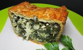 Orientalische Pastete mit Spinat und Schafskäse