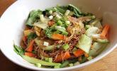 Pad Thai - Gebratene Reisnudeln mit Gemüse