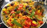 Paella de verduras – Gemüsepaella
