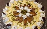 Pflaumen-Eierlikörsahne-Torte