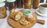 Rührkuchen im Glas gebacken