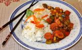 Schnelle Gemüsepfanne - chinesisch