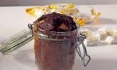 Schoko-Toffee-Kuchen im Glas