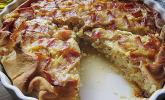 Zwiebelkuchen in der Tarteform