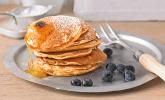 Dinkel-Blueberry-Pancakes