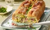 Spargel-Blätterteig-Pastete