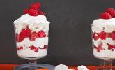 Schnelles Himbeer-Dessert