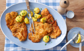 Original Wiener Schnitzel mit Petersilienkartoffeln