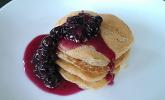 Blaubeersoße für Pfannkuchen und Co.