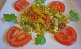 Bulgur-Gemüse-Feta-Auflauf mit Pinienkernen