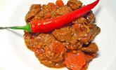 Chili-Gulasch mit Linsen