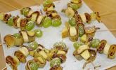 Crêpe-Fruchtspieß