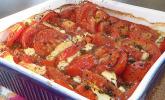Feta-Tomaten-Gratin