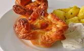 Herzhafte Blätterteig-Gehacktes-Muffins