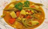 Julies falsche Gulaschsuppe (vegetarisch)