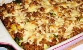 Kartoffel-Rosenkohl-Auflauf