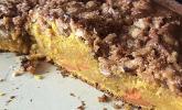 Kürbis Pie-Kuchen mit Walnuss-Streuseln