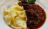 Lammgulasch mit Aceto Balsamico