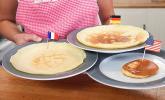 Grundrezepte: Pfannkuchen, Crêpe und Pancake
