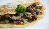 Pilz-Pfannkuchen