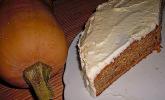 Pumpkin Spice Cake mit Vanilla Creamcheese Frosting