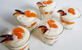 Schnelles Mandarinen-Quark-Dessert