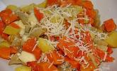 Süßkartoffel-Kartoffel-Fenchel-Auflauf