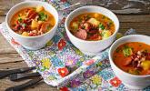 Deftige rote Bohnensuppe
