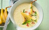 Pastinaken-Birnensuppe mit Curry