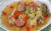 Herzhafte Hack-Sauerkraut-Suppe