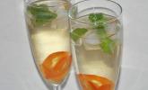 Kumquat-Sekt-Cocktail
