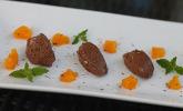 Mousse au chocolat mit Orangenduft
