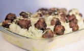 Naomis Blumenkohl-Kartoffel-Gratin mit Tatarbällchen