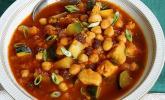 Orientalischer Gemüse-Hähnchen Eintopf