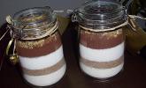 Brownie-Mix im Glas
