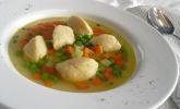 Butterklößchen als Suppeneinlage