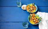 Hähnchen-Gemüse-Bowl