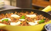 Platz 25: Hackfleischpfanne mit Tomaten und Gemüse