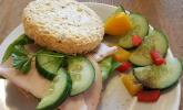 Platz 6: Low Carb Sandwich