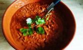 Rote-Linsen-Kokossuppe